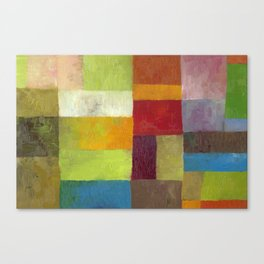 Abstract Color Study lV Canvas Print