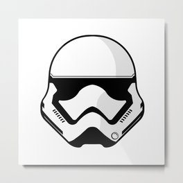 First Order Stormtrooper Metal Print