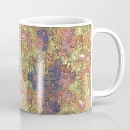 Mineral Map - Abstract Art Coffee Mug