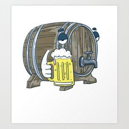 I'd Tap That | Beer Brewery Brewer Art Print
