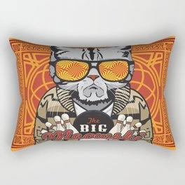 The Big Meowski Rectangular Pillow