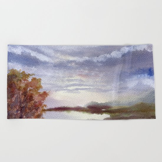 Autumn Light Beach Towel