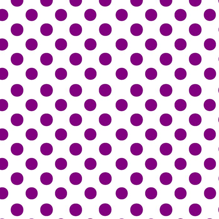 Polka Dots (Purple/White) Leggings