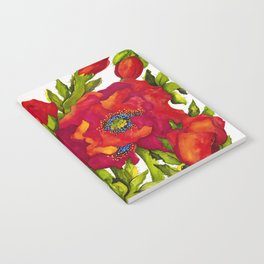 Bold Poppies Notebook