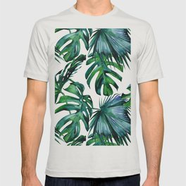 Tropical Palm Leaves Classic T-shirt