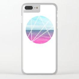 Sea Prism Clear iPhone Case