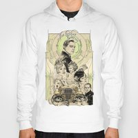 gatsby Hoodies featuring the great nouveau gatsby by yo, sb!