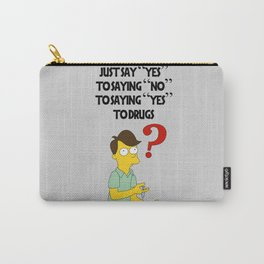 yust say yes Carry-All Pouch