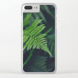 fairy fern Clear iPhone Case