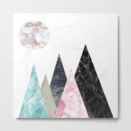 marlbe mountain Metal Print