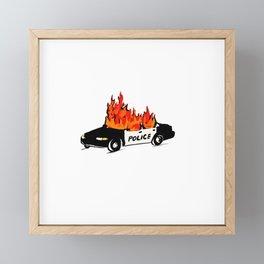 Defund Framed Mini Art Print