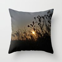 sublime Throw Pillows featuring Sublime by Dorothy Pinder