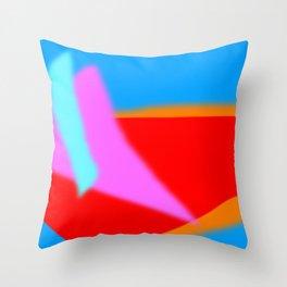 Digital landscape 2 Throw Pillow