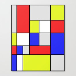 Mondrian #25 Canvas Print