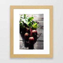 Sweet Beets Framed Art Print