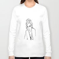 harry styles Long Sleeve T-shirts featuring Harry Styles by Rosalia Mendoza