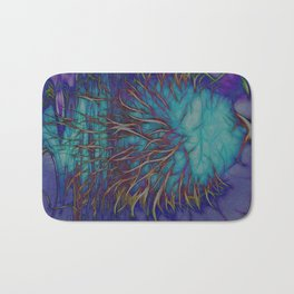 Banksia Grandis Abstract Bath Mat