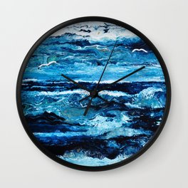 Vague à l'âme Wall Clock