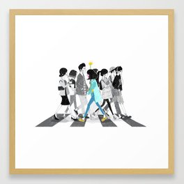 The Turning Point Framed Art Print
