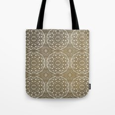 The Flower of Life Pattern Tote Bag