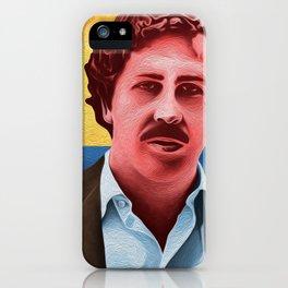 """Pablo Escobar """"Medellin"""" iPhone Case"""