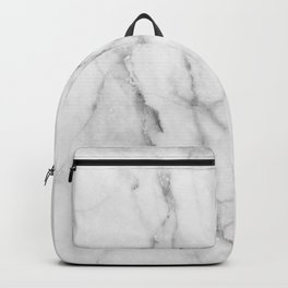 Clean White Marble Backpack