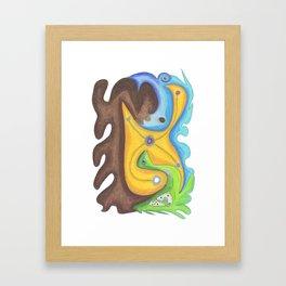 Drawing #99 Framed Art Print