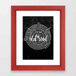 Old Soul 1 Framed Art Print