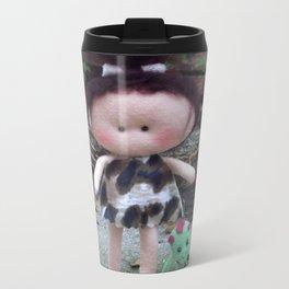 Jurassic Girl Doll Metal Travel Mug