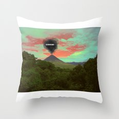Cough Throw Pillow