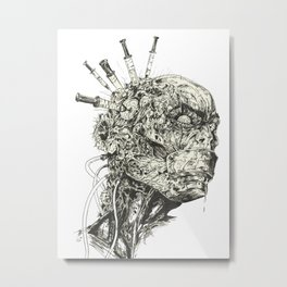 Growing Insanity Metal Print