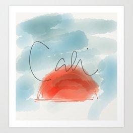Missing Cali Art Print