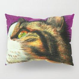 Jax the cat - coloured pencils Pillow Sham