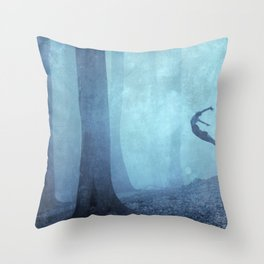 free spirit II Throw Pillow
