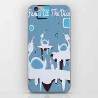 panic at the disco iPhone & iPod Skins featuring Panic! at the Disco - Candle Swans by Shana Marie