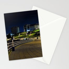 View of Plymouth Hoe at Night / Early Morning Stationery Cards
