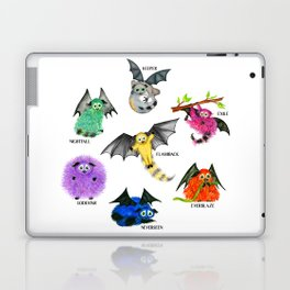 Seven Books, Seven Iggys Laptop & iPad Skin