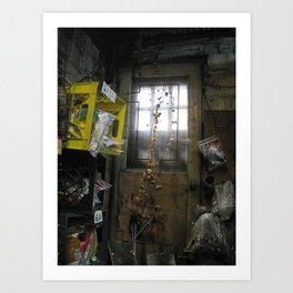 Forgotten Doorway Art Print