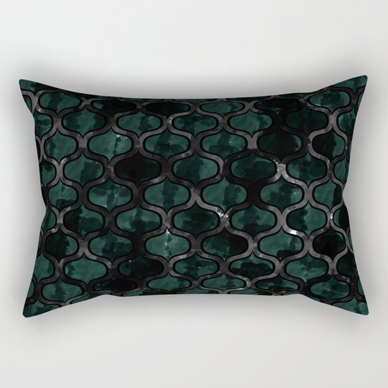 Abstract 48 Rectangular Pillow