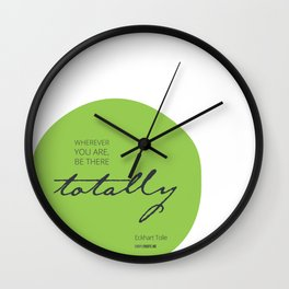 Be There Totally Wall Clock