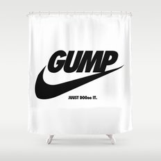 Gump Just Do It Shower Curtain