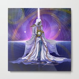 Father of Mysteries Metal Print