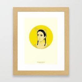 'Margaret McPoyle' Part 2 Framed Art Print