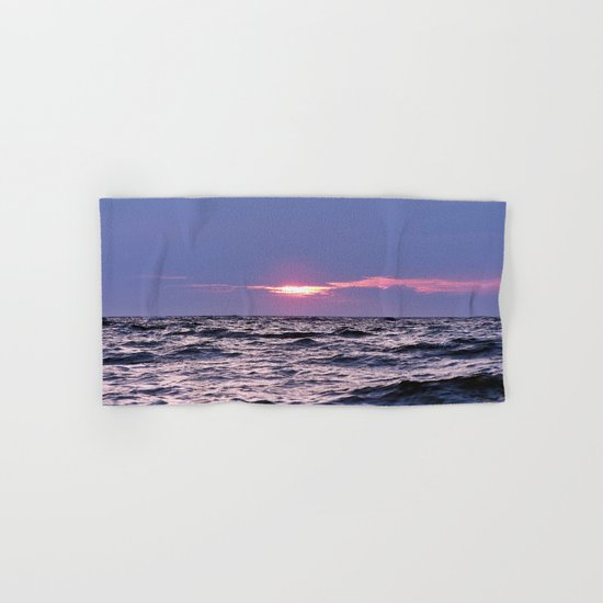 Water level Sunset Hand & Bath Towel
