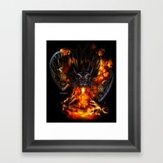Dragon Negro DNIII Framed Art Print