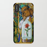 beast iPhone & iPod Cases featuring Beast by Two Tiger Moon Studio