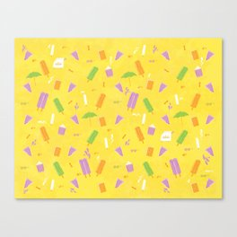 Popcicle Summer Canvas Print