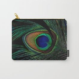 peacock eye Carry-All Pouch