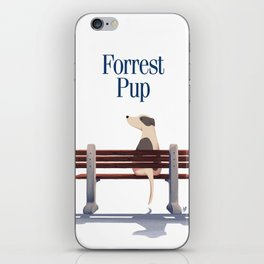 Forrest Pup iPhone Skin
