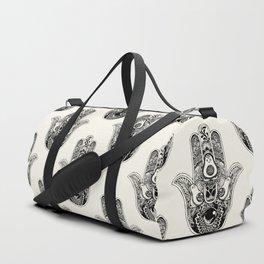 Hamsa Hand Avocado Duffle Bag